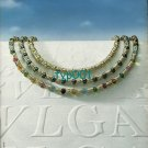 BVLGARI BULGARI - 1988 - COLOURFUL NECKLACE PRINT AD