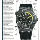 AUDEMARS PIGUET - 2013 -  ROYAL OAK OFFSHORE DIVER TEST ADVERTORIAL
