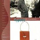 BURBERRYS - LOEWE - TAKASHIMAYA - 1998 ALL OF LIFE'S LITTLE ESSENTIALS PRINT AD
