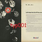 MOBIL - 1975 - LET'S TAKE LID OFF ECONOMY PRINT AD