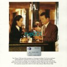 DINERS CLUB - 1996 - I LOST MY WALLET SHOULD I SLEEP WITH THE PIGEONS PRINT AD