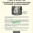 ROHR - 1973 - ROHRBOND BREAKTHROUGH IN MATERIALS TECHNOLOGY PRINT AD