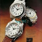 SWISS ARMY- 1997 - BUILT FOR DISTINGUISHED SERVICE PRINT AD