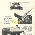 AERONCA INC - 1973 - HONEYCOMB SANDWICH TECHNOLOGY PRINT AD