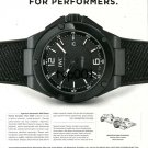 IWC - 2013 - IWC INGENIEUR ENGINEERED FOR PERFORMERS TURKISH PRINT AD