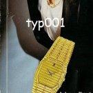 AUDEMARS PIGUET - 1985 - AS ELEGANT AS A TELLING GLANCE PRINT AD