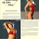 YENI INCI - 2004 SEXY LINGERIE VALENTINE'S DAY TURKISH PRINT AD - 01