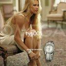 OMEGA - 2004 - ANNA KOURNIKOVA CHOICES SEXY PRINT AD