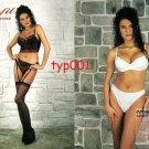 COMFIT - 2003 SEXY UNDERWEAR LINGERIE GARTER HOSIERY TURKISH PRINT AD