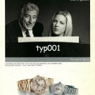 ROLEX - 2002 - TONNY BENNETT & DIANA KRALL SILENCE IS NOT GOLDEN PRINT AD