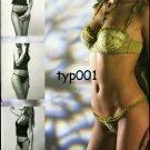 NAZTEKS - 2003 SEXY  LINGERIE PANTY BRA TURKISH PRINT AD
