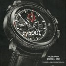 AUDEMARS PIGUET - 2009 - MILLENARY CARBON ONE TOURBILLON CHRONOGRAPH PRINT AD