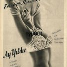 AY YILDIZ - 1963 - RARE BRA ALWAYS LEADER IN STYLE COMFORT TURKISH PRINT AD