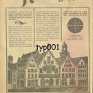 PAN AM - 1963 - GERMANY? - RARE TURKISH PRINT AD