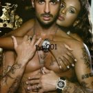 MARC ECKO - 2009 - LUXURY WATCHES FOR MEN AND WOMEN SHIRTLESS PRINT AD