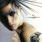 TECHNOMARINE - 2004 - SEA URCHIN - TECHNODIAMOND CHRONOSTEEL WATCH PRINT AD