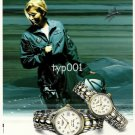 LONGINES - 1996 - GOLDEN WING AVIATION PRINT AD