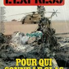 L'EXPRESS - 1980 - IRAN - FOR WHOM THE BELL TOLLS - MAGAZINE COVER ONLY