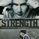 TAG HEUER - 1998 - MIKA HAKKINEN MCLAREN MERCEDES FORMULA 1 PILOT PRINT AD