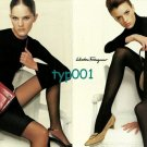 SALVATORE FERRAGAMO - 2001 - SHOES BAGS AND BLACK PANTYHOSE SEXY PRINT AD - 1