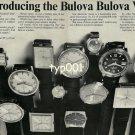 BULOVA - 1968 - REINTRODUCING THE BULOVA BULOVA WATCH VINTAGE PRINT AD