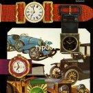 SORNA - 1968 - WATCH MODELS & ANTIQUE CARS VINTAGE PRINT AD