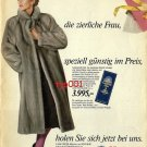 HERTIE - 1986 - MINK FUR COAT FOR THE PETITE LADY GERMAN PRINT AD