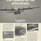 LOCKHEED - 1984 - SUPER HERCULES GET 3 OR 4 PLANES FOR THE PRICE OF ONE PRINT AD