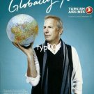 TURKISH AIRLINES - 2010 - KEVIN COSTNER GLOBALLY YOURS TURKISH PRINT AD