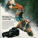 SONY - 1988 - THE HANDICAM PRO WATER SKIING PRINT AD