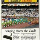 GOLDSTAR - 1988 - BRINGING HOME THE GOLD PRINT AD