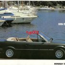 BMW - 1986 325i/2 CABRIO TURKISH PRINT AD