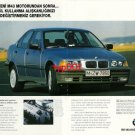 BMW - 1993 NEW M43 ENGINE FOR 1994 315i 318i MODELS TURKISH PRINT AD