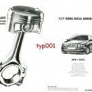 BMW - 1997 SERIES 5 ALUMINIUM ALLOY ENGINE MORE ADRENALIN TURKISH PRINT AD