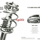 BMW - 1997 SERIES 5 ALUMINIUM SUSPENSION MORE SAFETY TURKISH PRINT AD