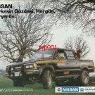NISSAN - 1986 EVERYBODY'S FAVORITE 4WD PICKUP TURKISH PRINT AD