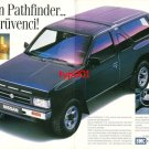 NISSAN - 1991 PATHFINDER THE CHICK ADVENTURER TURKISH PRINT AD