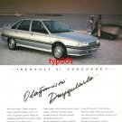 RENAULT - 1993 CONCORDE WITH EXTRAORDINARY SENSATIONS TURKISH PRINT AD