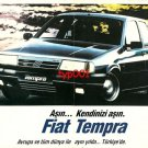 FIAT - 1990 TEMPRA EXCEED YOURSELVES TURKISH PRINT AD