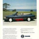 SAAB- 1993 900 CABRIOLET TURBO RAREST PLEASURE OF LIFE TURKISH PRINT AD