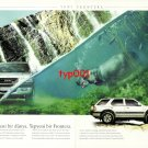 OPEL - 1999 FRONTERA BRAND NEW FEATURES ADVENTURES WORLD 3 PAGE TURKISH PRINT AD