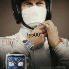 TAG HEUER - 1998 - STEVE MCQUEEN MONACO WATCH PRINT AD
