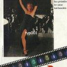 PARIZIEN - 1992 TURKISH PANTYHOSE RITA HAYWORTH IN GILDA PRINT AD - TYPE 1