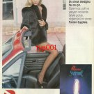 PARIZIEN - 1992 TURKISH PANTYHOSE & FUR ELEGANT MOMENTS PRINT AD