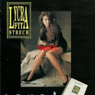 PENTI - 1992 TURKISH PANTYHOSE LYCRA FIT STRETCH HOSIERY PRINT BROCHURE AD