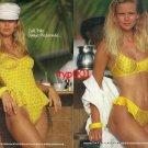ZEKI TRIKO - 1992 - ZEKI SWIMSUITS AT WORLD BEACHES PRINT AD - 1