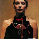 GÖN LEATHER - 1992 - THERE IS SOMETHING THAT TIES YOU TO US TURKISH PRINT AD - 2
