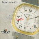 TISSOT - 1992 - SEASTAR SWITZERLAND QUALITY TIME TURKISH PRINT AD