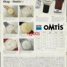 TISSOT - 1992 - SWISS QUALITY TIME TURKISH PRINT AD