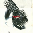 OMEGA - 1992 - FOR THE ACTIVE ONES SPEEDMASTER PROFESSIONAL TURKISH PRINT AD